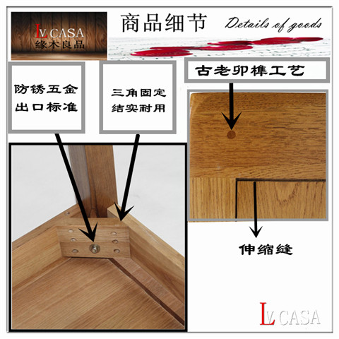 1.8 meters, 1.5 oak beds, wooden double European style environmental protection all solid wood big bed hotel, room furniture direct sales special offer