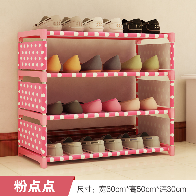 Iron shoe shoe storage simple modern simple multilayer assembly rack dustproof national shipping special offer