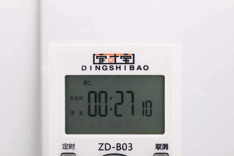 Time timing switch 220V intelligent switch socket electronic time accurate to second controller