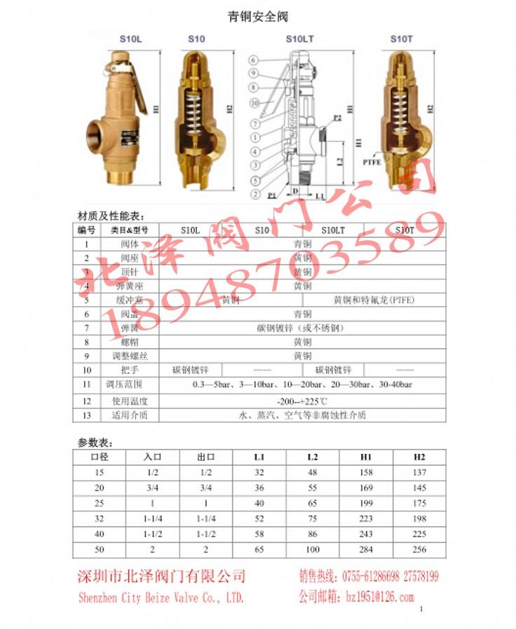 Importação de válvula de segurança, válvula de segurança, válvula de segurança de Taiwan Taiwan SS válvula de segurança, válvula de segurança de caldeiras a vapor DN20