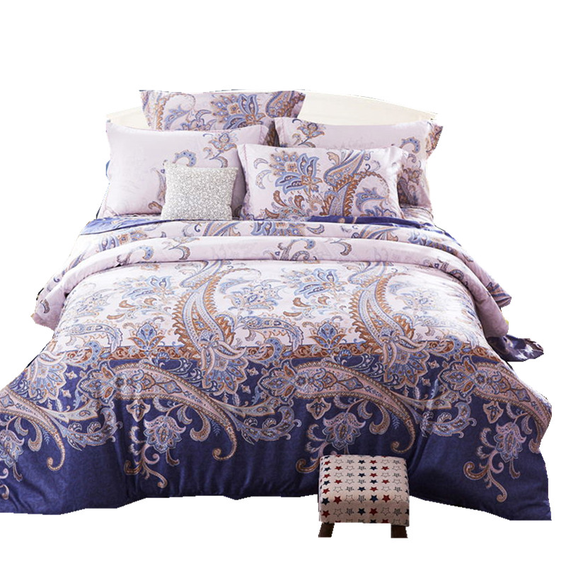 Gong Li on the spring and summer silk quilt bridal bed European Tencel /2.0 Satin 1.8 four piece ice sheets M