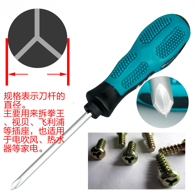 Install mobile phone computer repair screwdriver small special type screwdriver screwdriver head screwdriver type special shaped package