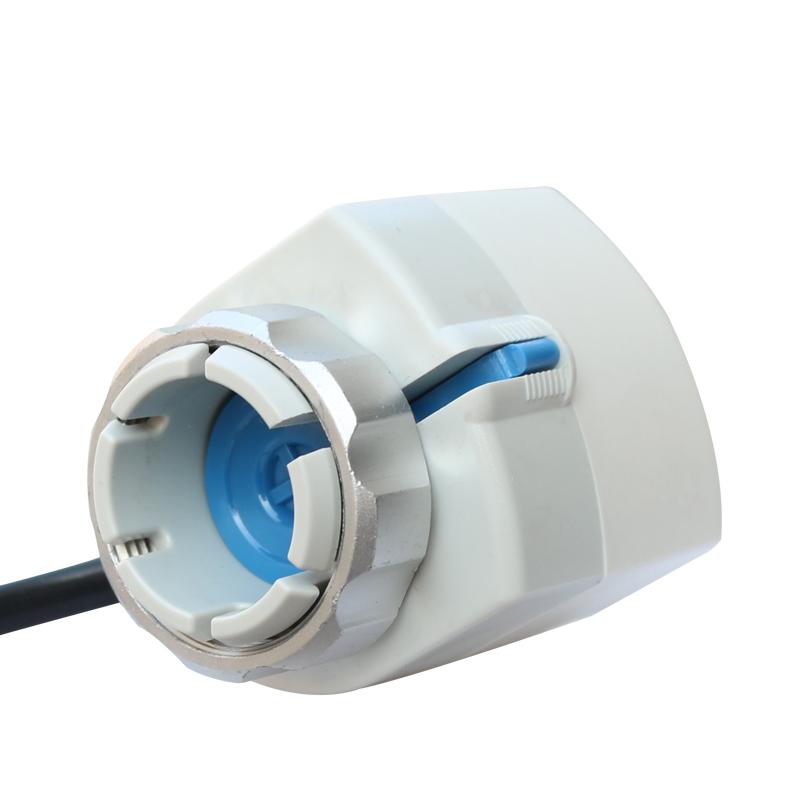 الحارة المحركات الكهربائية صمام الملف اللولبي صمام المياه الجوفية الحرارية التنوع مقسم غرفة ترموستات صمام التحكم في درجة الحرارة التدفئة الكهربائية 24V