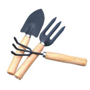 特价阳台种菜工具花园绿植大号园艺三件套种植花铲锹叉耙铲子包邮