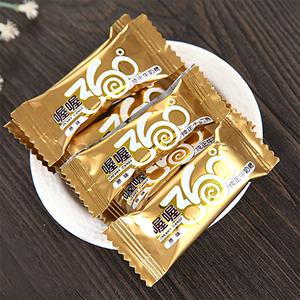 正品喔喔360原味纯正巧克力牛奶糖休闲零食结婚庆喜糖果500克85粒
