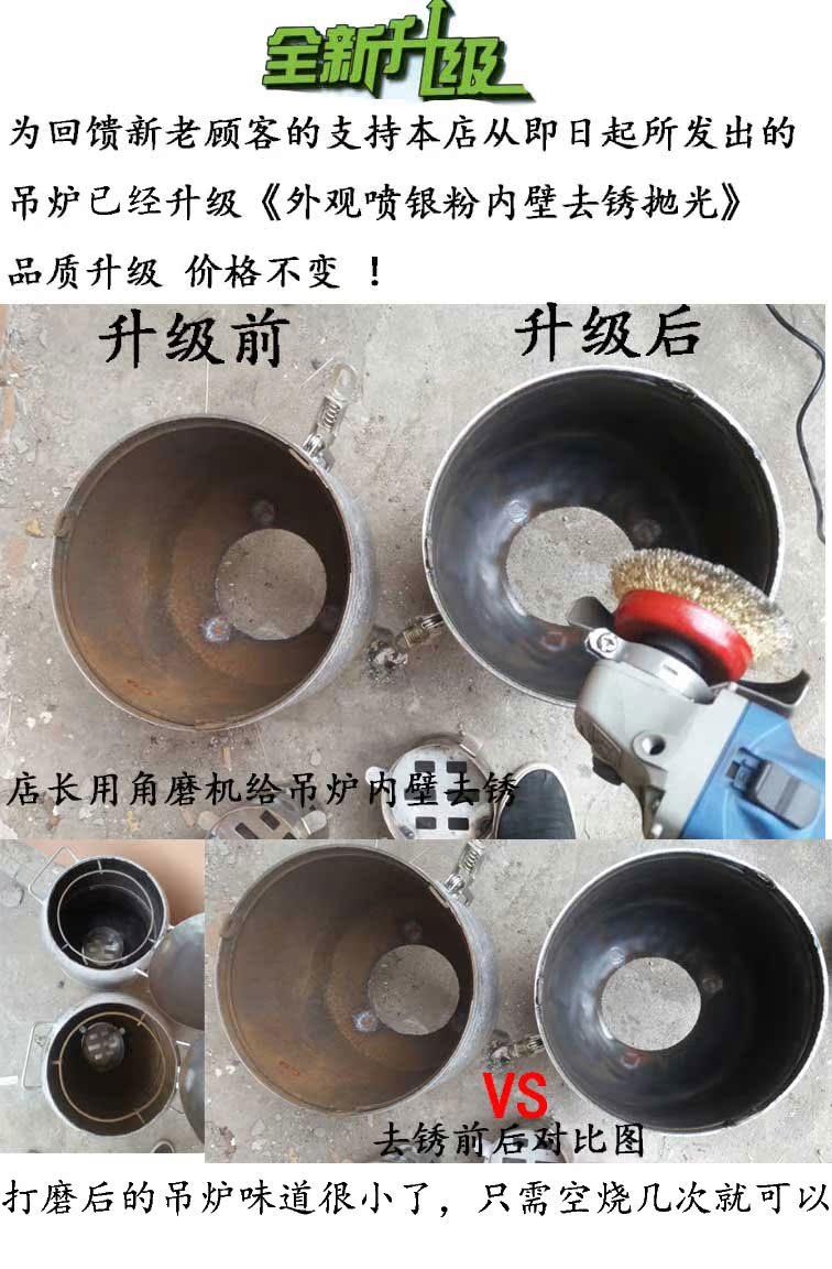 ใหม่อเนกประสงค์ขนาดถังแก๊สเตาย่างบาร์บีคิวถ่านสำหรับเตาเคบับเตากระตุ้นให้ส่งเครื่องมือ