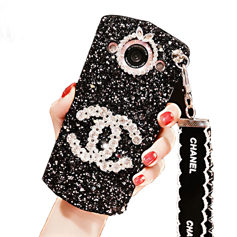 Mito t8s mobile phone shell M8 glitter shell m6s Rhinestone protective sleeve M4S matte shell v4s creative lanyard tide