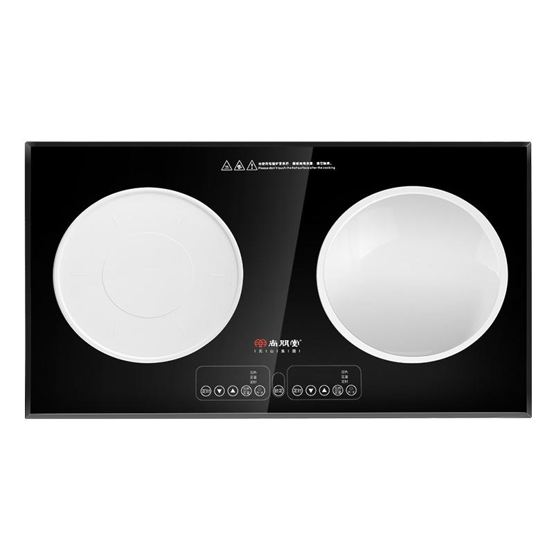 เตาแม่เหล็กไฟฟ้าเตาฝัง 2 หัว / เตาในดวงตาคู่ Sunpentown 尚朋堂 YS-IC34H36