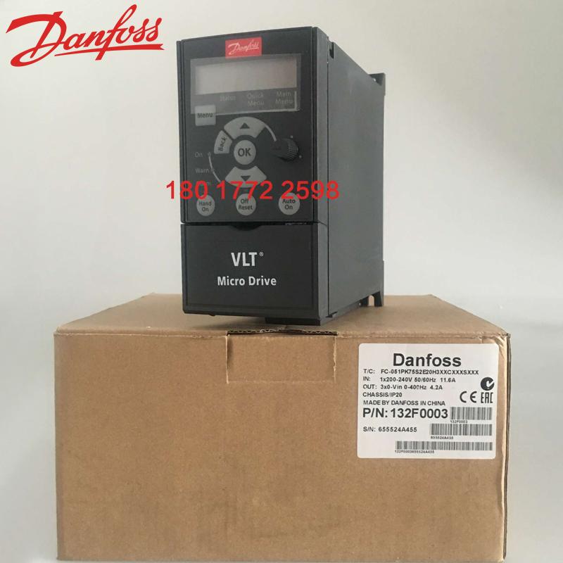 ダンフォスインバータ0.37kWFC-051PK37S2E20H3XXCXXXSXXX単相220 V