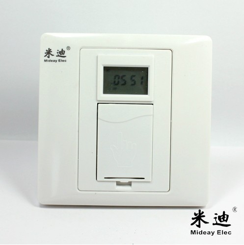 Time controller for electronic time controlled switching power supply with 86 timer switches