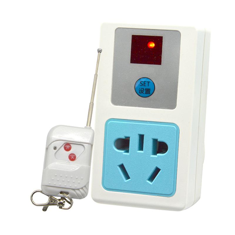 Um controle remoto SEM FIO, soquete de parede de 220V para Bomba de controle remoto interruptor para lâmpada soquete de lâmpada