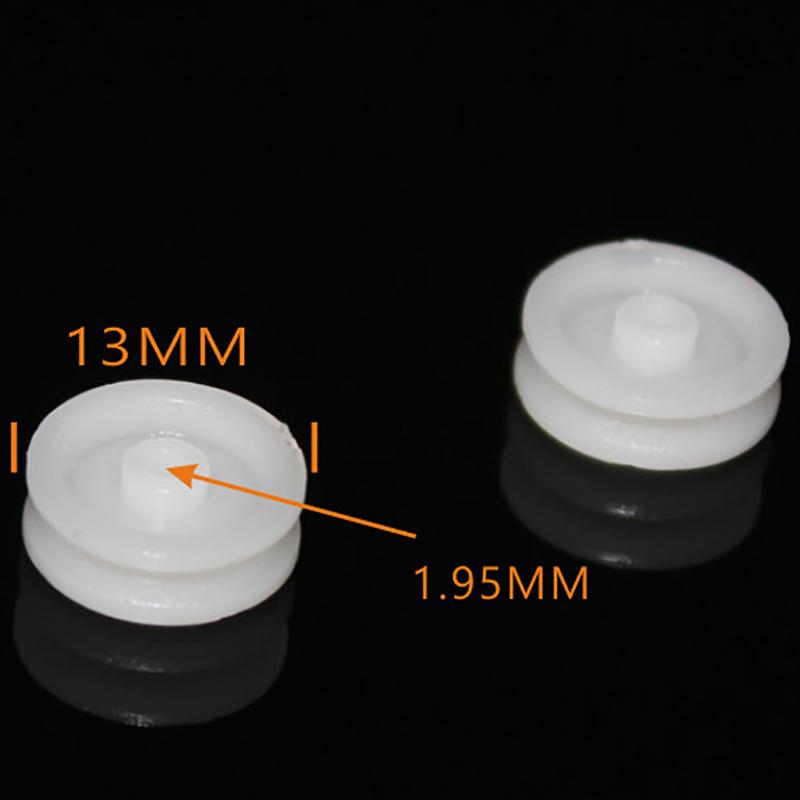 delar till leksaker 132a trissa diameter 13mm vetenskap och teknik för tillverkning av plast modeller av tillbehör och hastighet som säljs över utrikeshandel