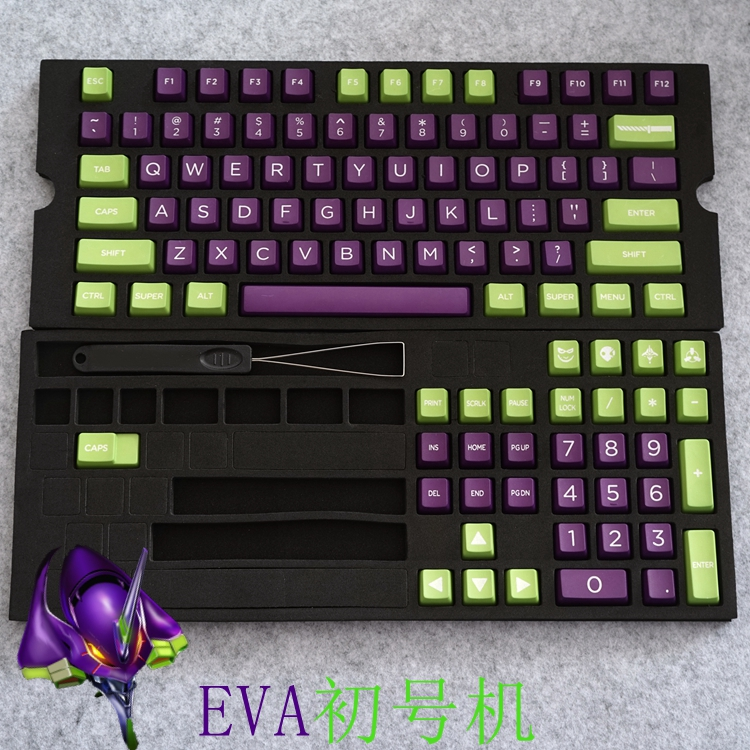 Filco carbon records commando EVA cherry color 3000/3494 mechanical PBT keyboard keycap character