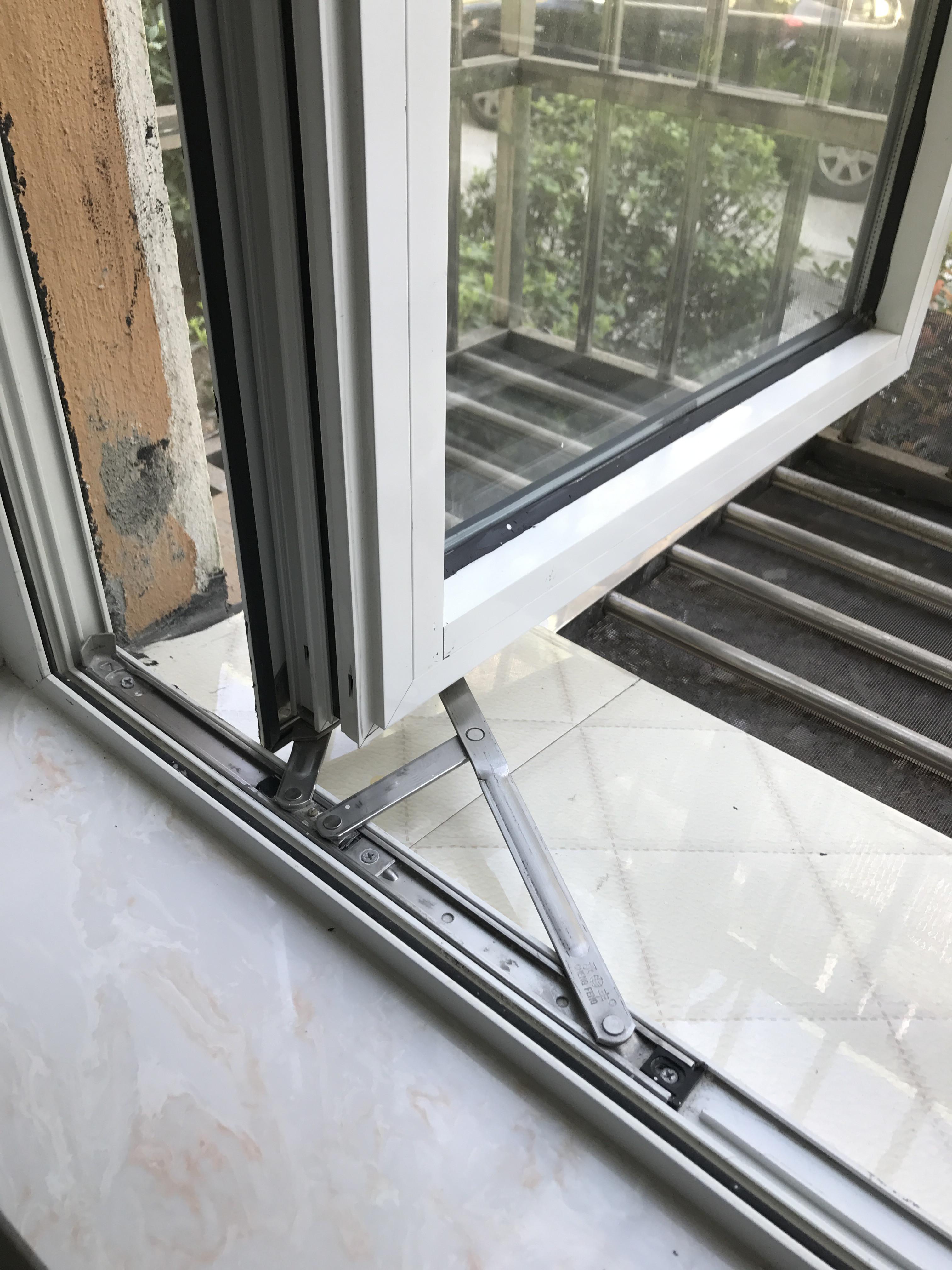 Aluminium - Fenster - Rahmen stecken Edelstahl - Seite unterstützung kunststoff - Fenster vier pleuel reibung.
