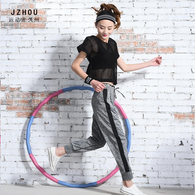 Im frühjahr und Sommer - turnhalle unter koreanischen Frauen yoga - kleidung - weste laufen drei Stück in Sieben hosenanzug
