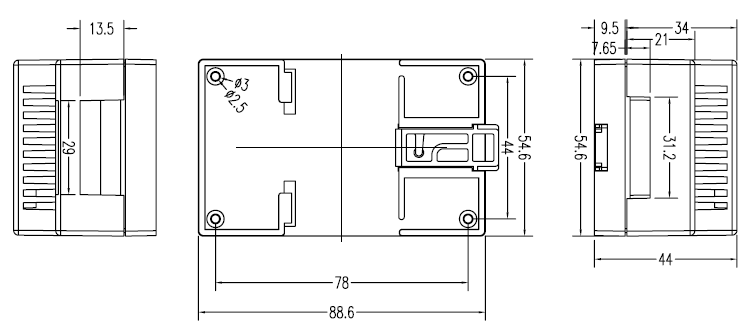 2 controle remoto interruptor de controle remoto de equipamentos acessórios de 380 a Ponto de um auto - bloqueio de código FIXO