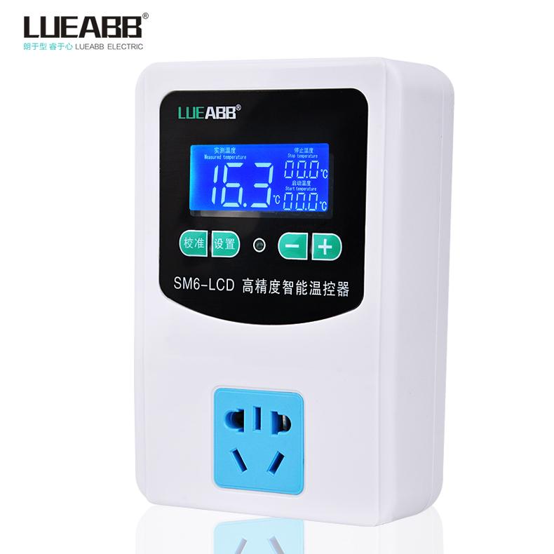 ổ cắm điện tử thông minh điều khiển nhiệt kế để kiểm soát nhiệt độ chuyển đổi mang khi điều chỉnh