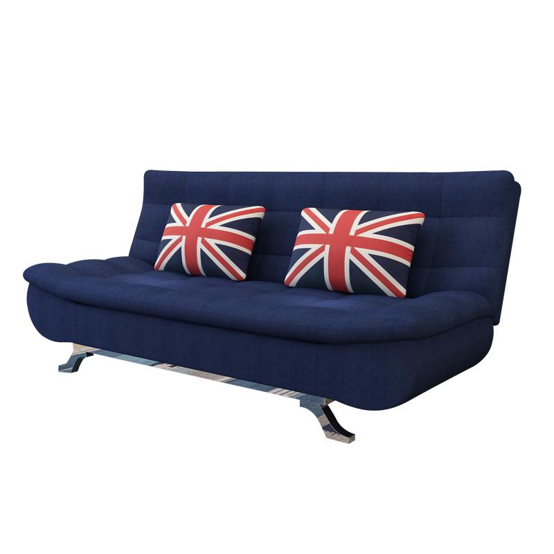 Τον καναπέ - κρεβάτι πτυσσόμενου σαλόνι διπλό μικρό διαμέρισμα 1,8 m 1,5 μέτρο 1.2 τρία άτομα διπλής χρήσης και τον καναπέ ύφασμα