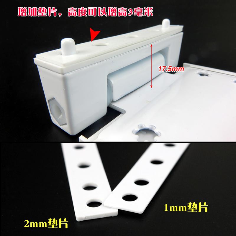 Plastic steel door window hinge extrapolation standard card door hinge door hinge hinge window accessories
