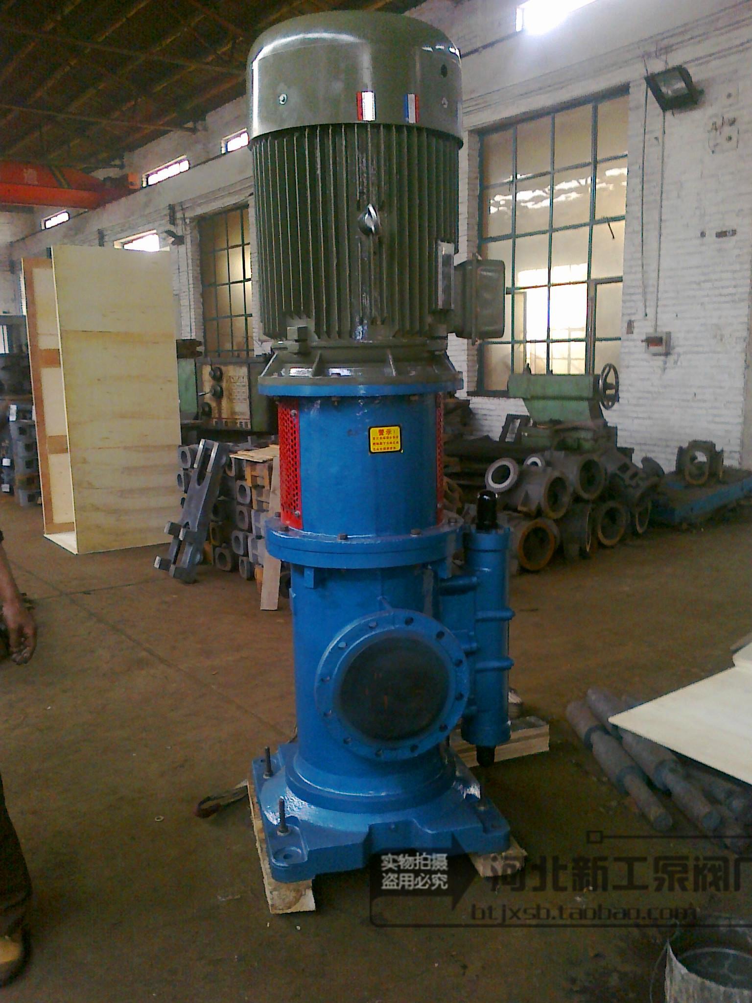 3GQB100*X2-51DN:125MM high efficiency screw pump insulation jacket asphalt ship horizontal vertical pump with CCS