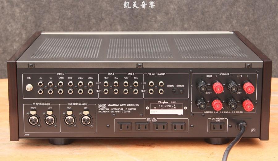 金嗓子e305发烧功放机