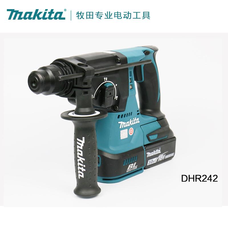 18V batterie au lithium brushless Makita Makita DLX2161X meuleuse d'angle rechargeable hammer set DHR242