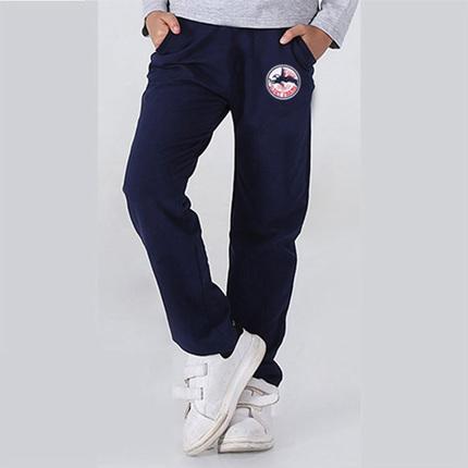 童装儿童运动裤 春秋加厚加绒男童 裤中大童新款 休闲裤 长裤纯棉