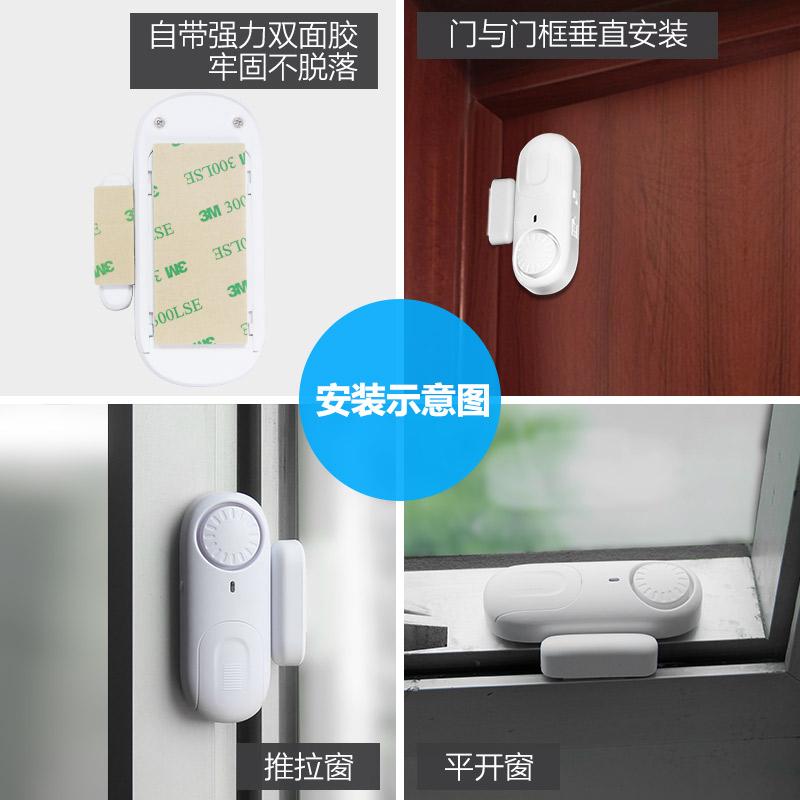 - tjuvar hushåll. affären trådlösa system för fönster och dörrar inomhus och familjen tjuvlarm