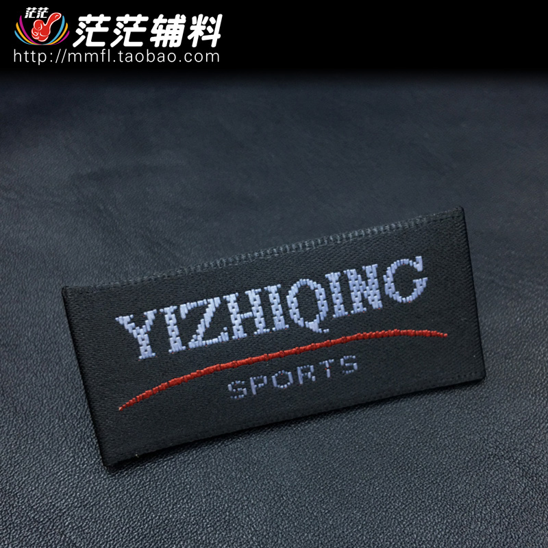 Tessuti Bersaglio portando su Tessuti Tessuti etichetta Mark lavaggio Standard su misura La produzione di abbigliamento di Tag Standard collare Pacchetto Post
