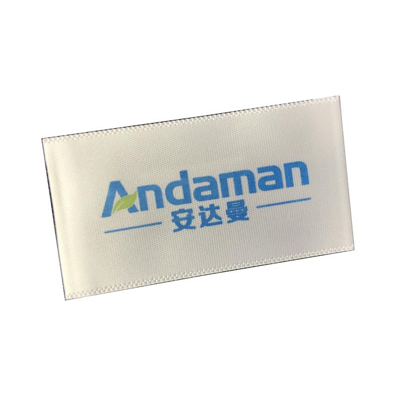Standard collare di tessuto normale Standard collare - marchio Tessitura Mark Tag personalizzato