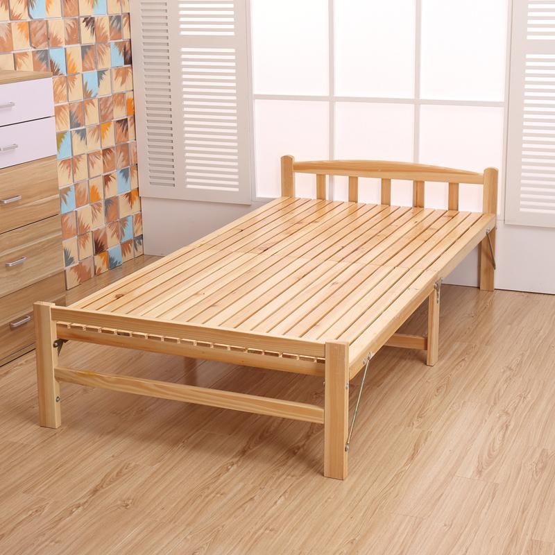 - lihtne puidust. voodi, madratsid, madratsid, topelt - mänd - plaat kõva voodi.