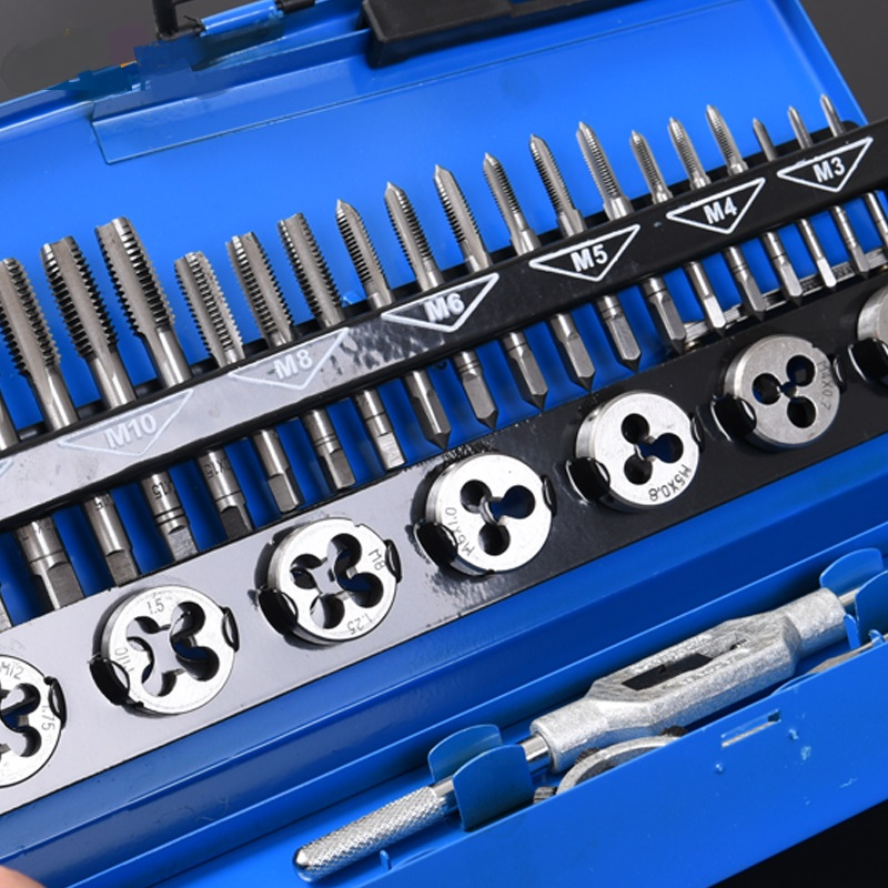 Tap wrench screw bevel teeth group quality manual die group suit hardware tools tools