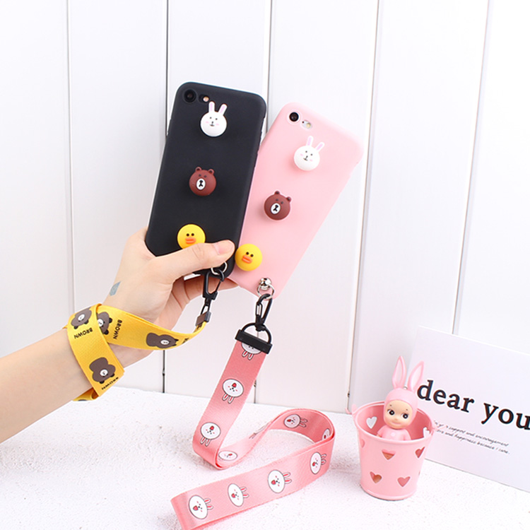 Cute cartoon wristbands Jin s5/s5.1pro/s5.5/s9/s6pro/m6/m5plus mobile phone shell v187