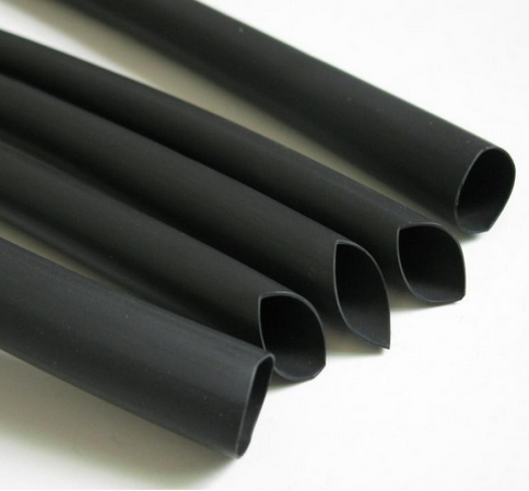 El suministro de protección del medio ambiente el tubo de doble pared con pegamento 4 veces la tasa de contracción de doble pared con manguera de alta temperatura
