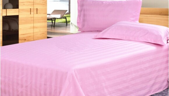 Hospital medical bedding three sets of medical beds cotton white blue section sheets bed linen pillowcase cotton