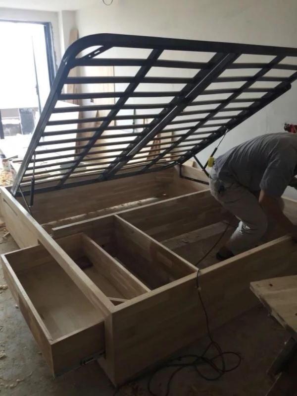 Hydraulic bent frame / pneumatic bent frame / high box bedstead /1.8 meter reinforced bent frame /1.5 meter bedstead