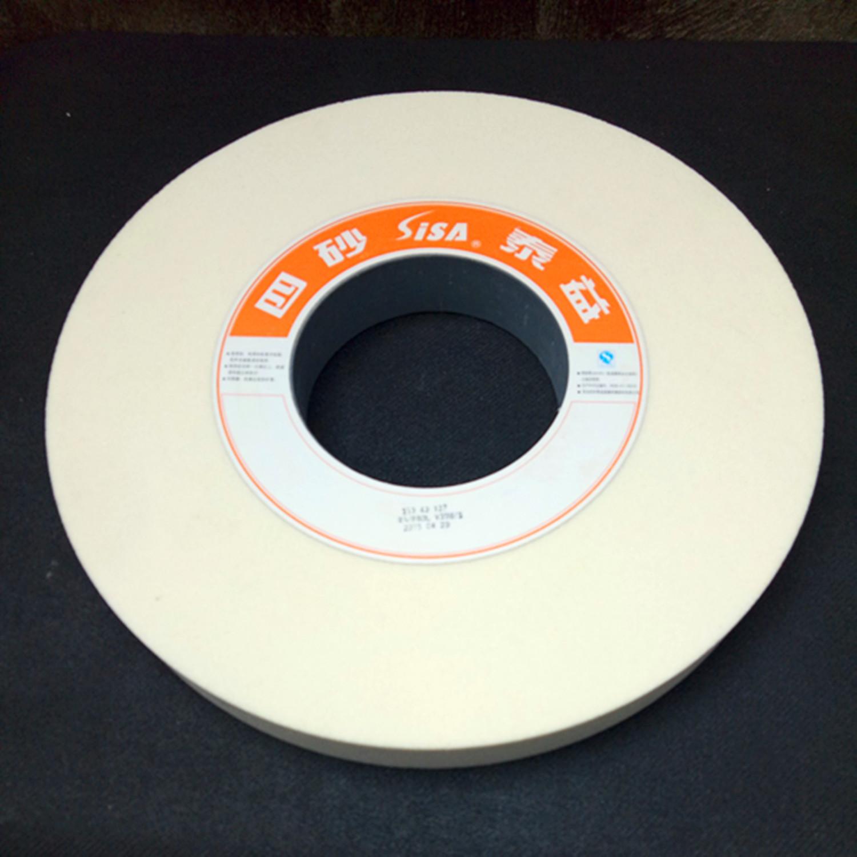 7130 plane grinding wheel grinding wheel grinding wheel Shuimo ceramic green carbon white corundum grinding wheel 350*40*127