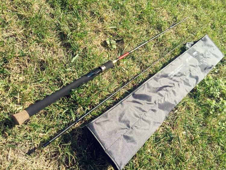 Special offer super hard M genuine fishing Sen road and pole road sub straight shank rod 1.98-2.7 m fishing rod fishing bag mail