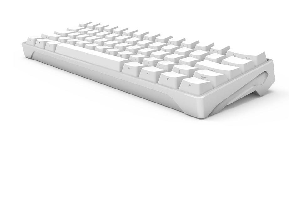 - caixa de metal teclado mecânico cherry iQunixLambo62 Cabo Verde do keycap PBT