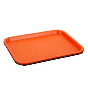 加厚快餐盘塑料托盘长方形托盘茶盘欧式食堂餐盘快餐托盘肯德基盘