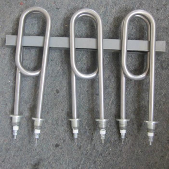 Arroz al vapor, tuberías de calefacción de la máquina de vapor del Gabinete de vapor de calefacción eléctrica 220V380V3KW4KW tubo de calor de tubo Doble u