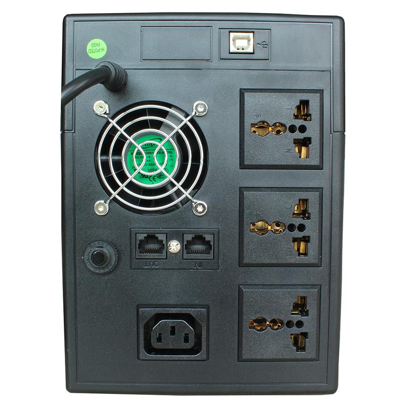 O secretário de H2000VA1200W Di UPS interruptor automático de computador servidor 1 6 Horas