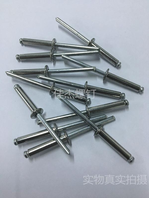 Pakje post 304 klinknagels klinknagel plat hoofd trekken M3.2M4M4.8M6M6.4 rivet.