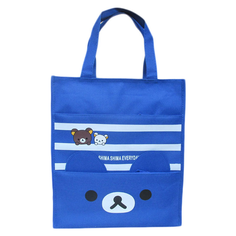 Vodotěsné velké plátno studenty A4 tutorial taška ruční taška kabelka taška umění třídy Oxford taška