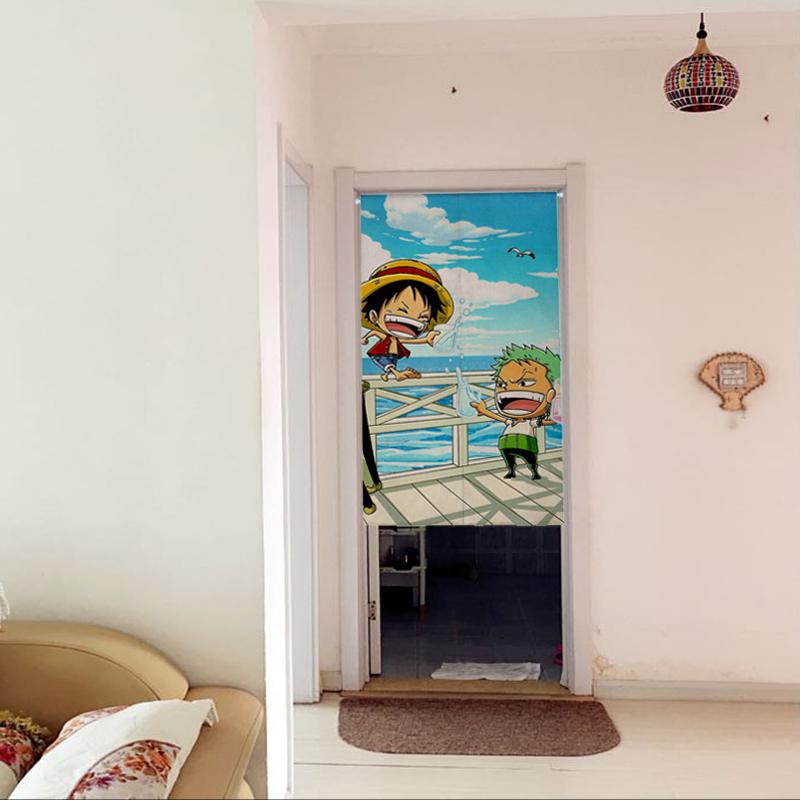 de obicei japonez de desene animate regele pirat cortina a zburat în dormitor şi o camera cu baie în dormitor.