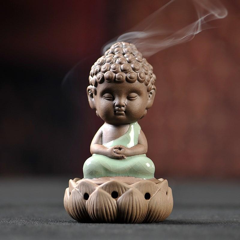 Татхагата кадило Будда украшения керамическая горелка ge ru алой копченый печь печь небольшой сандалового дерева