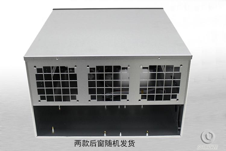 6. 6U470 karty ethernet wielu fanów ETH/ETC/ZEC/XMR przemysłowych podwójnego zasilania w przypadku serwerów