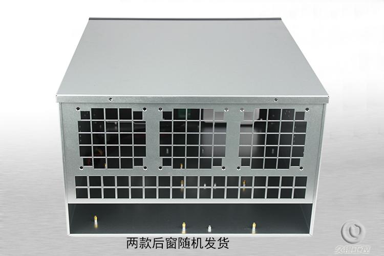 6U470 Ethernet Fang ETH / etc / sa section / XMR à alimentation double ventilateur du châssis de serveur de commande Graphique 6