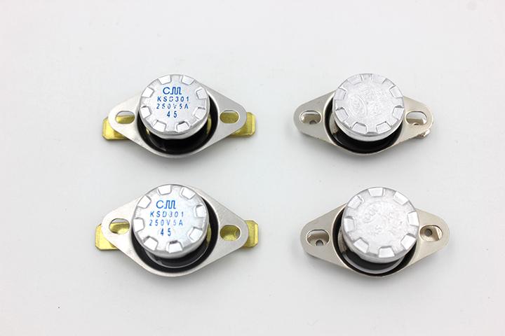 KSD301 termosztát kapcsoló gomb között gyakran ugrott be - 40~210 oc hőmérséklet csökkentése a biztosítási tevékenységek