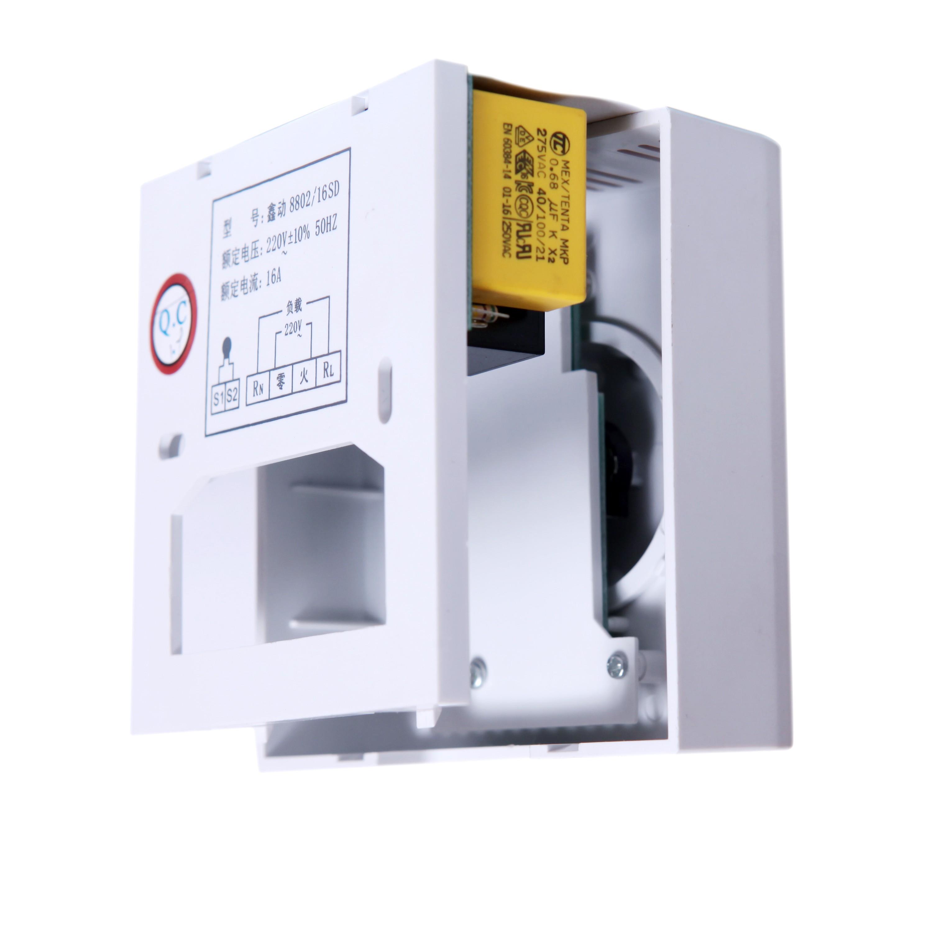 Xinyuan ไฟฟ้าความร้อนไฟฟ้าของฟิล์มความร้อนความร้อนคาร์บอนไฟเบอร์เสื่อทาทามิ 8802 สวิตช์ความร้อนไฟฟ้าเครื่องควบคุมอุณหภูมิ